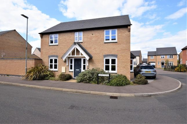 4 bed detached house for sale in Ascot Close, Barleythorpe, Oakham LE15