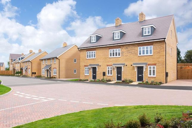 """Thumbnail Terraced house for sale in """"Queensville"""" at Southern Cross, Wixams, Bedford"""