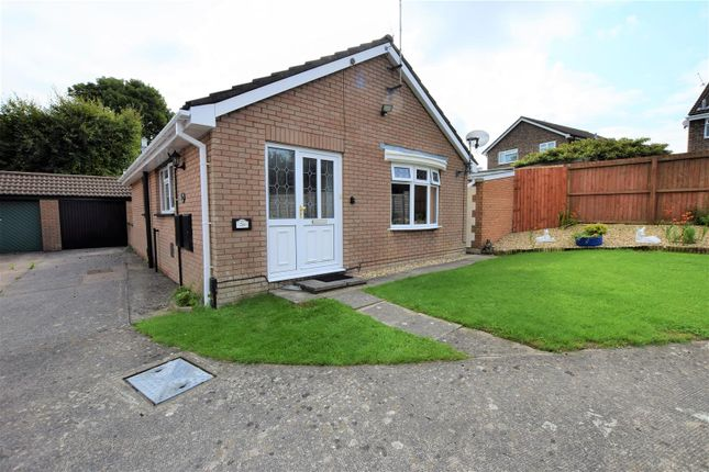 Thumbnail Detached bungalow for sale in Hollyrood Close, Barry