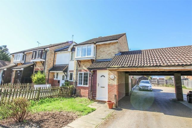 Thumbnail End terrace house for sale in Markwell Wood, Harlow, Essex