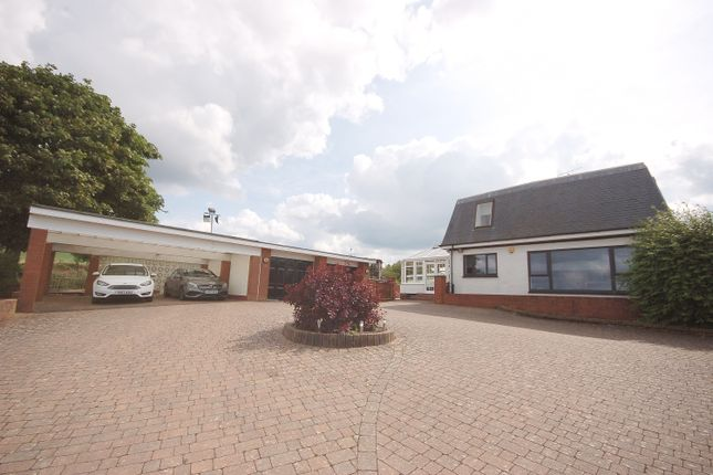 Thumbnail Detached house for sale in Trickle Trout, High Flat Farm Road, Carmunnock