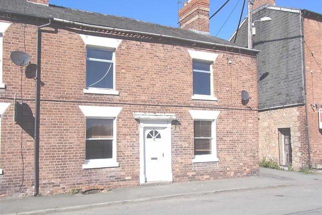 Thumbnail Terraced house to rent in 1, Ashfield Terrace, Llanymynech, Powys