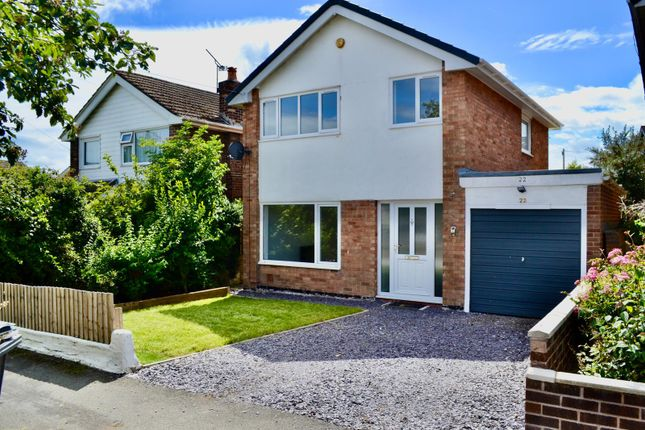 Thumbnail Detached house to rent in Springfield Drive, Buckley, Flintshire