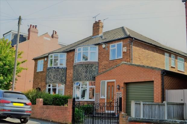 Thumbnail Semi-detached house to rent in Gledhow Wood Avenue, Roundhay, Leeds