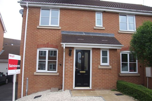 Thumbnail Semi-detached house to rent in Wheatcroft Close, Redditch