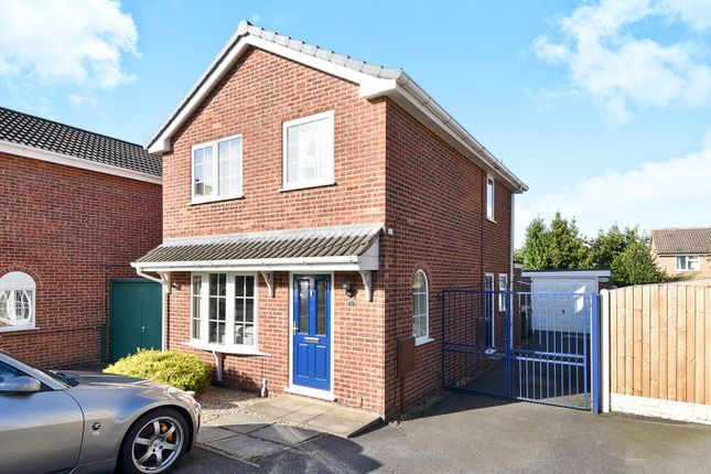 Thumbnail Detached house for sale in Rye Close, Oakwood, Derby