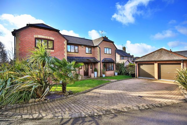 Thumbnail Detached house for sale in Maillards Haven, Penarth