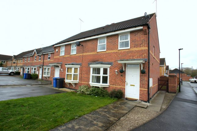 Thumbnail Semi-detached house to rent in Marquis Gardens, Chellaston, Derby