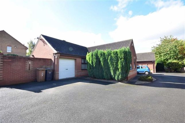 Thumbnail Detached bungalow for sale in Hasgill Close, Oakwood, Derby