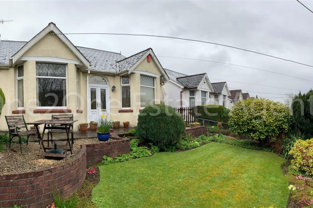 Thumbnail Detached bungalow for sale in Hospital Road, Pontnewynydd, Pontypool