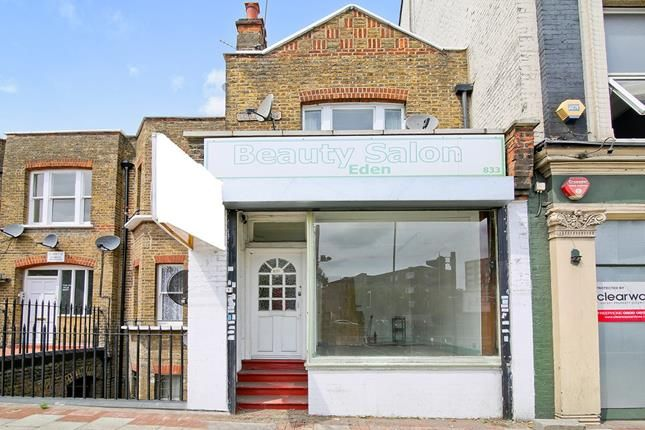 Thumbnail Retail premises for sale in 833, Woolwich Road, London