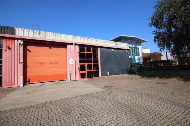 Thumbnail Warehouse for sale in Coronation Road, London