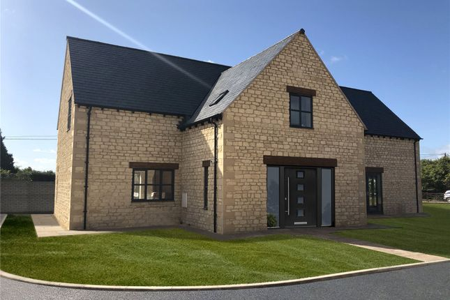 Thumbnail Detached house for sale in The Street, Oaksey, Malmesbury, Wiltshire