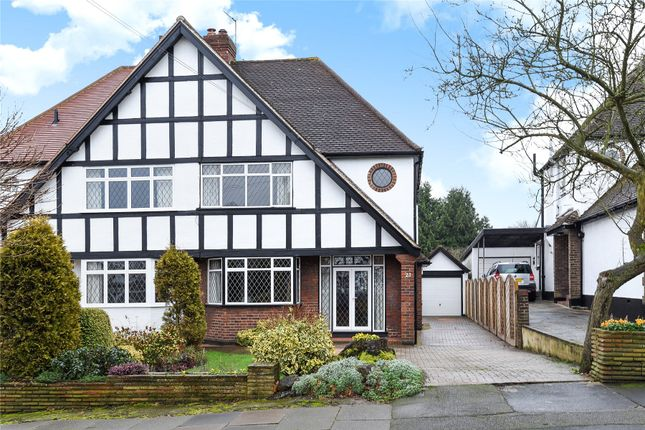 Thumbnail Semi-detached house for sale in South Walk, West Wickham