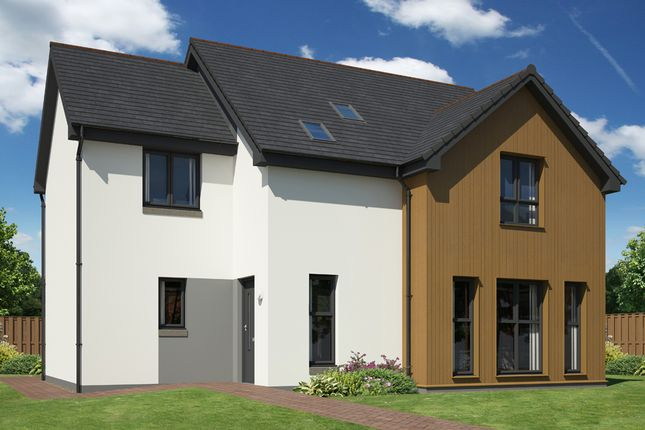Thumbnail Detached house for sale in Linkwood Road, Elgin