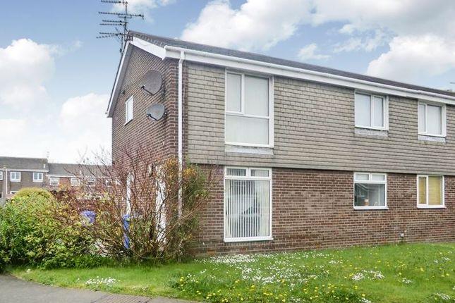 Thumbnail Flat to rent in Newlyn Drive, Cramlington