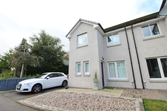 Thumbnail 3 bed semi-detached house to rent in 1 Polo Park, Stoneywood, Aberdeen