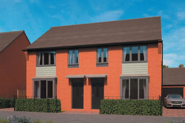 "Thumbnail End terrace house for sale in ""Archford"" at Lawley Drive, Lawley, Telford"