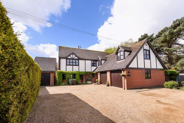 Thumbnail Detached house for sale in The Hedgerows, Lound Road, Blundeston, Lowestoft