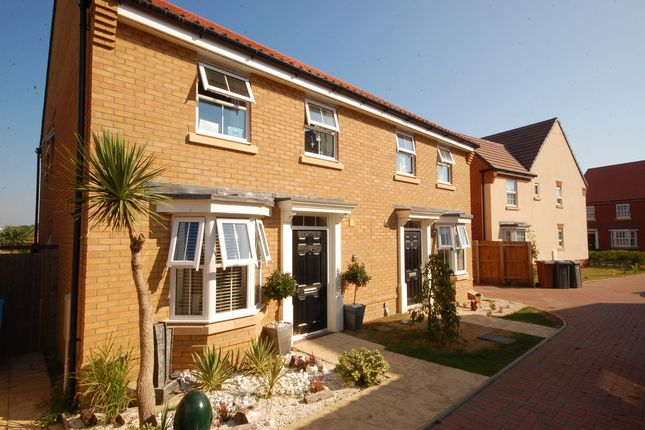 Thumbnail Semi-detached house for sale in Gilbert Road, Saxmundham