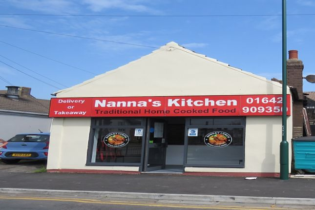 Thumbnail Restaurant/cafe for sale in Lord Street, Redcar