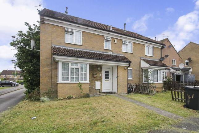 Thumbnail Property to rent in Dorrington Close, Biscot Area, Luton