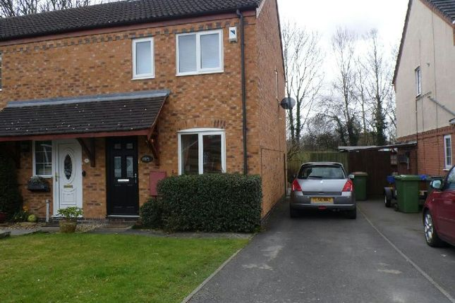 Thumbnail Semi-detached house to rent in Phillip Drive, Glen Parva, Leicester