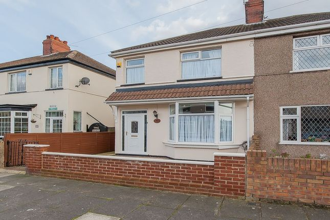 Thumbnail Semi-detached house for sale in Tennyson Road, Cleethorpes