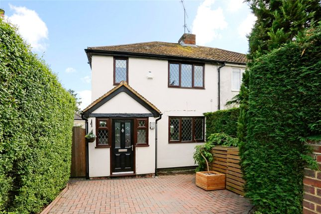 Thumbnail Semi-detached house for sale in Oak Tree Road, Marlow, Buckinghamshire