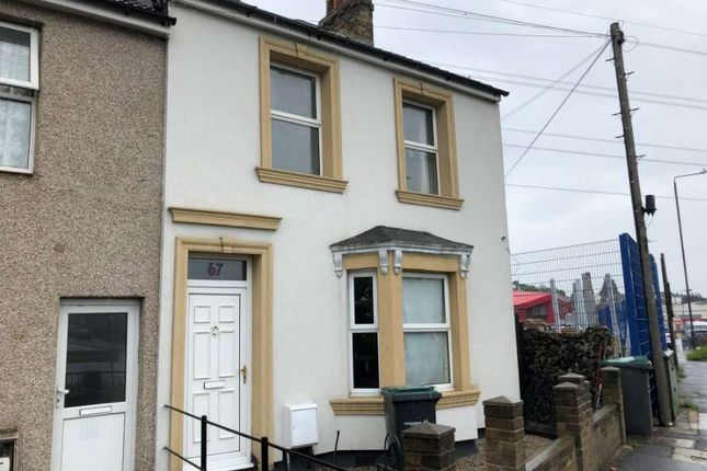 Thumbnail 1 bed semi-detached house to rent in Stonebridge Road, Northfleet, Gravesend