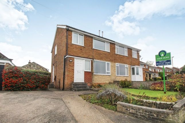 Thumbnail Semi-detached house to rent in Markbrook Drive, High Green, Sheffield