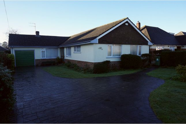 Thumbnail Detached bungalow for sale in Magna Road, Bournemouth