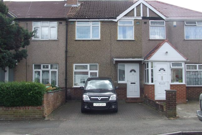 Thumbnail Terraced house to rent in Laburnum Road, Hayes, Middlesex