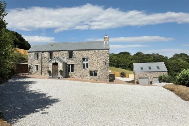 Thumbnail Detached house for sale in Bluebell Lane, Golberdon, Callington, Cornwall