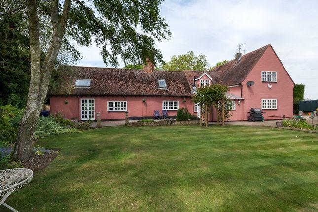 Thumbnail Detached house for sale in Calford Green, Kedington, Suffolk