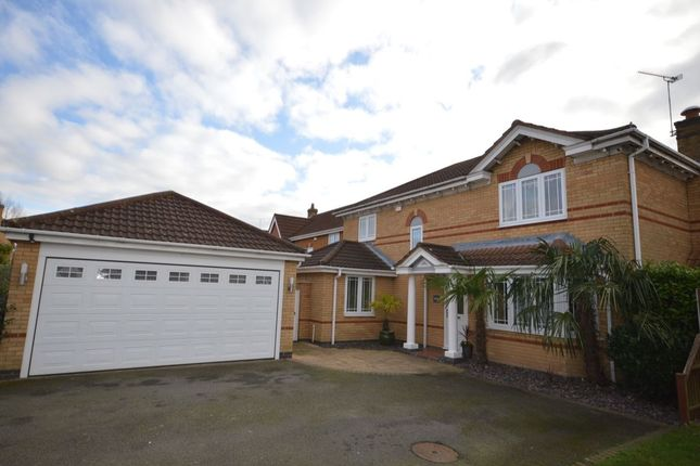 4 bed detached house for sale in Elliot Close, Whetstone, Leicester