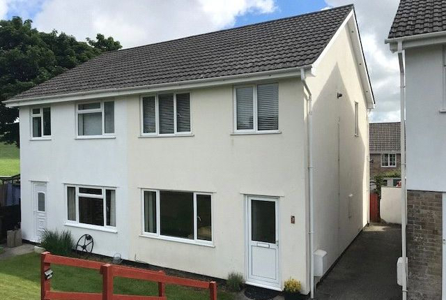 Thumbnail Semi-detached house to rent in Lowertown Close, Landrake, Saltash, Cornwall