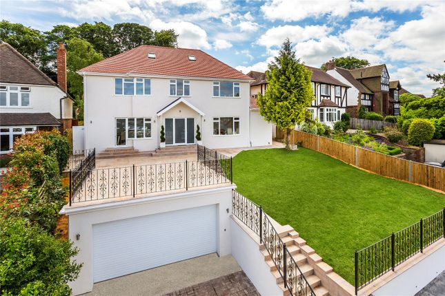 Thumbnail Detached house for sale in Harvey Road, Guildford, Surrey