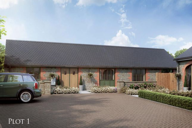 Thumbnail Barn conversion for sale in Plot One, Stableyard Close, Barleythorpe, Oakham