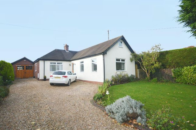 Thumbnail Detached bungalow for sale in Moss Lane, Elworth, Sandbach