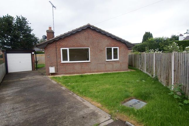 Thumbnail Detached bungalow for sale in Chester Road, Rossett, Wrexham