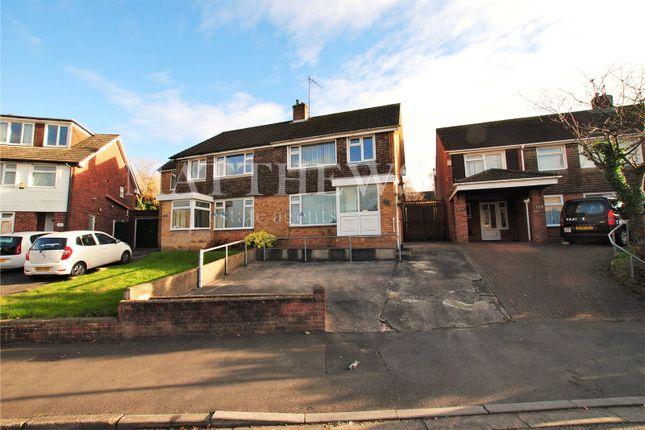 Thumbnail Semi-detached house to rent in Woolaston Avenue, Lakeside, Cardiff
