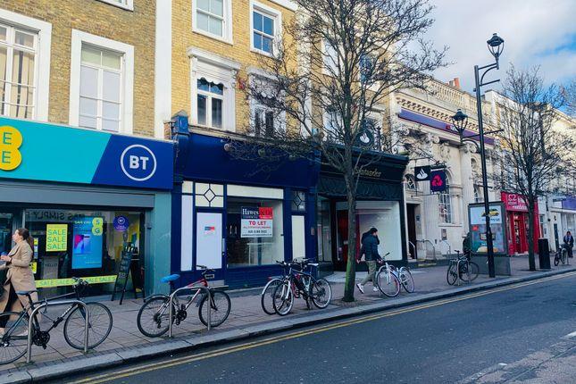 Thumbnail Retail premises to let in 13A Victoria Road, Surbiton