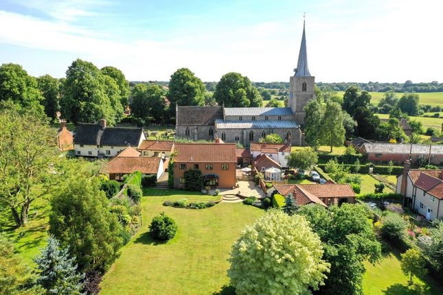 Thumbnail Detached house for sale in Church Hill, Banham, Norwich
