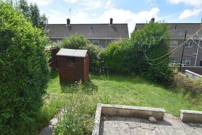 Rear Garden of Laburnum Place, Sketty, Swansea SA2
