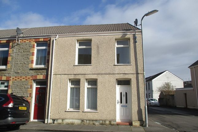 Thumbnail End terrace house for sale in Sandfields Road, Port Talbot, Neath Port Talbot.