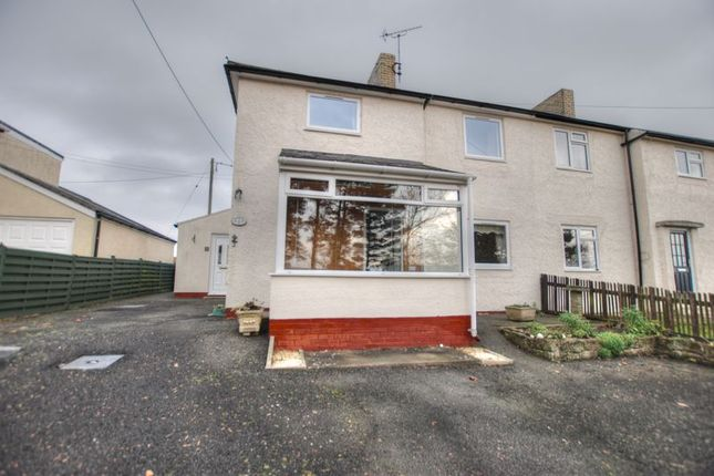 Thumbnail Semi-detached house for sale in Redewater View, Otterburn, Newcastle Upon Tyne