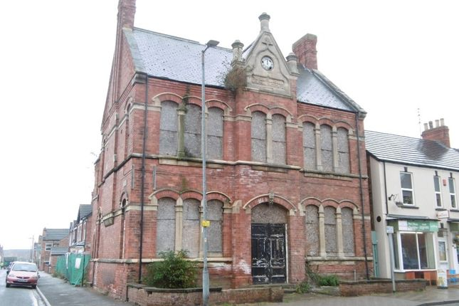 Thumbnail Commercial property for sale in The Fanny Marshall Institute, 49 Church Street, Gainsborough, Lincolnshire