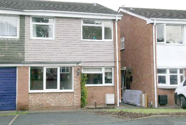 Thumbnail Semi-detached house to rent in Seaton, Belgrave, Tamworth, Staffordshire