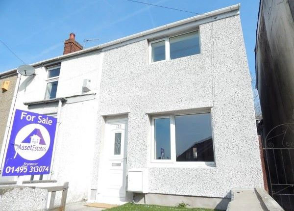 Thumbnail Terraced house for sale in King Street, Brynmawr
